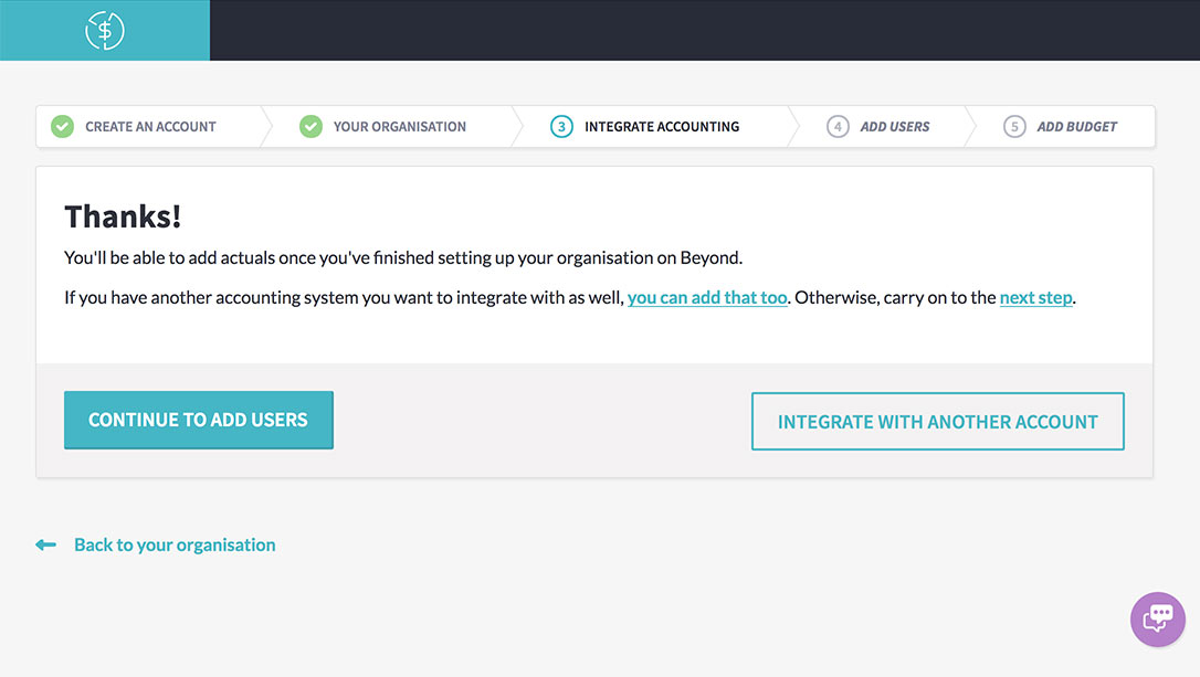 Success! Xero and Beyond are integrated - it's just that easy!